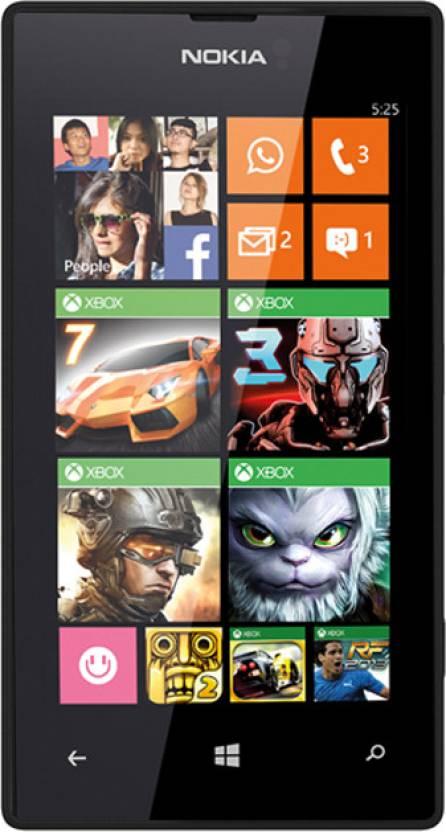 Nokia Lumia 525 (Black, 8 GB)