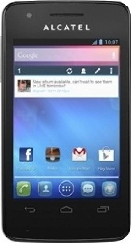 Alcatel One Touch Glory 2T (White, 100 MB)
