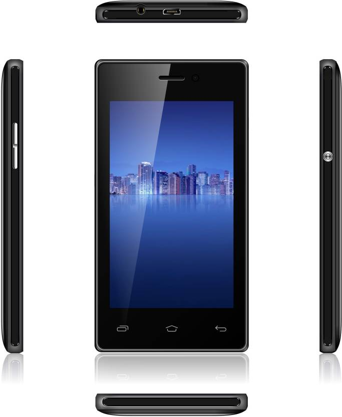 Videocon V40HD1-1 (Black, 512 MB)