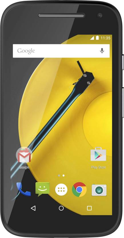 Moto E (2nd Gen) 4G (Black, 8 GB)