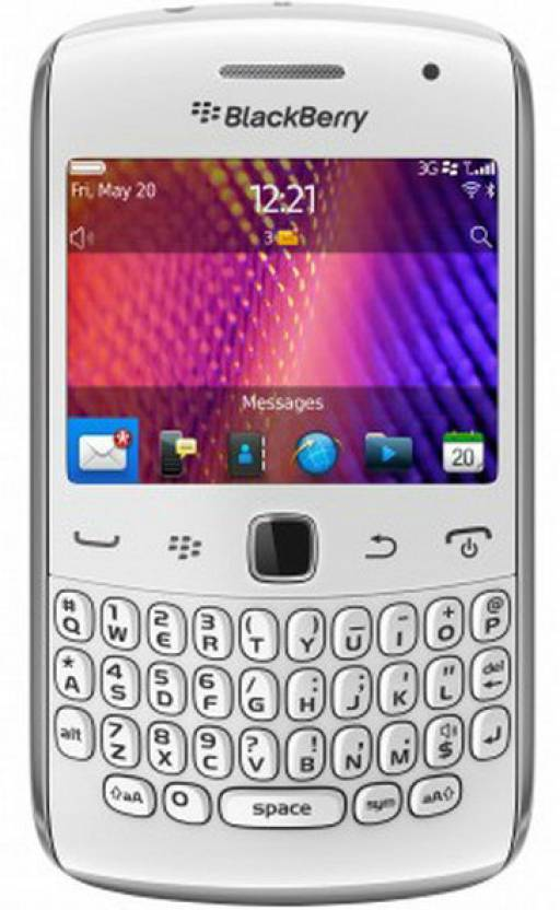 Blackberry 9360 (White, 512 MB)