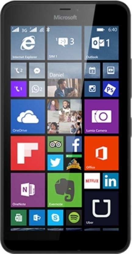 Microsoft Lumia 640 XL (Black, 8 GB)(1 GB RAM)
