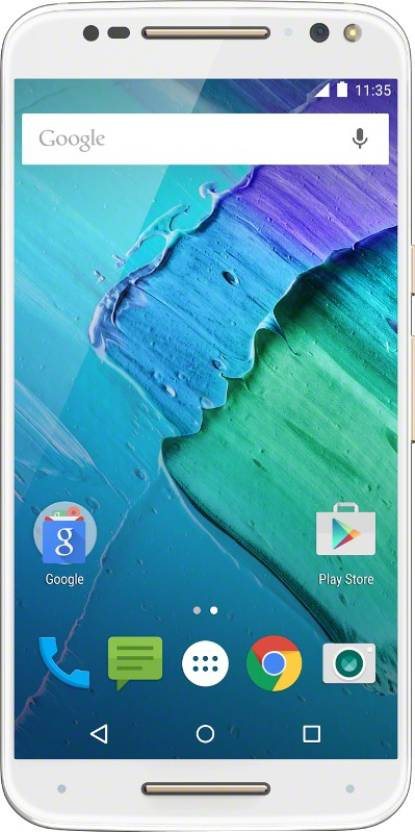 Moto X Style (White and Champagne, 16 GB)