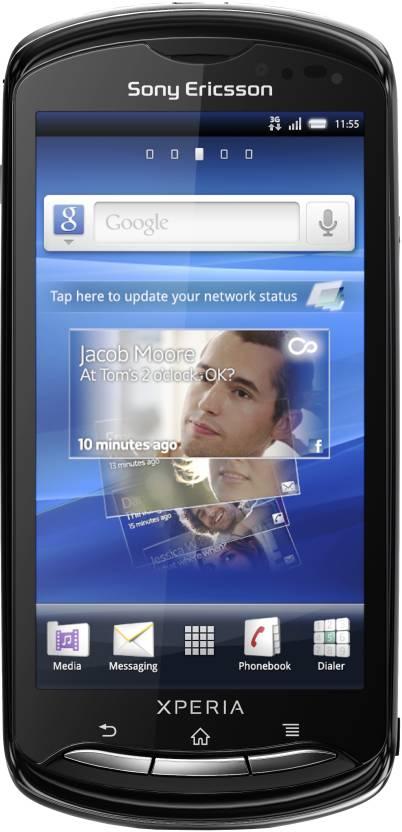 Sony Ericsson Xperia pro (Black, 320 MB)
