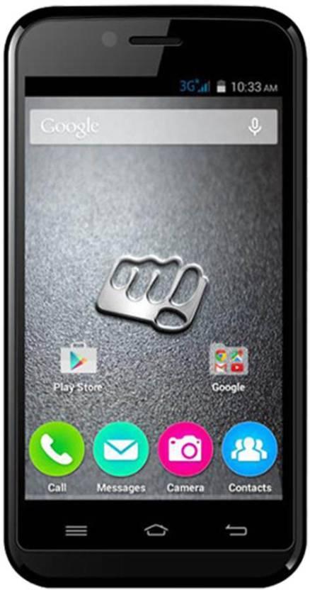 Micromax Bolt S301 Dual Sim - Black (Black, 4 GB)