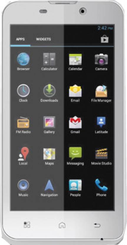 Iball Andi 4.5h (White, 4 GB)