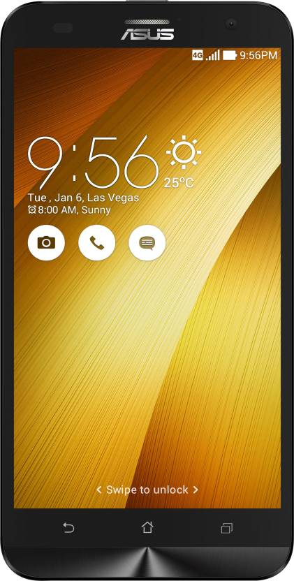 Asus Zenfone 2 Laser ZE550KL  Gold, 16   GB    2   GB RAM  available at Flipkart for Rs.9499