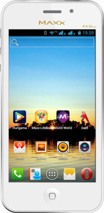 Maxx MSD7 Smarty Ax 5i Duo (White, 4 GB)