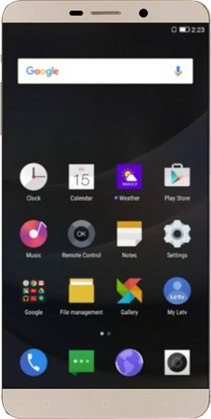 LeEco Le Max (Gold, 128 GB) Online at Best Price Only On Flipkart com