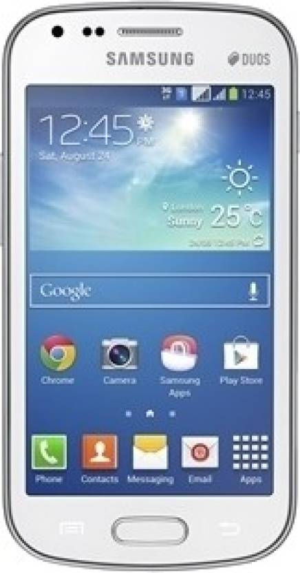 Samsung Galaxy S Duos 2 (Pure White, 4 GB)