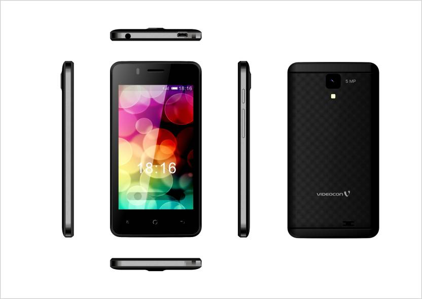 Videocon V40DF1-1 (Black, 8 GB)