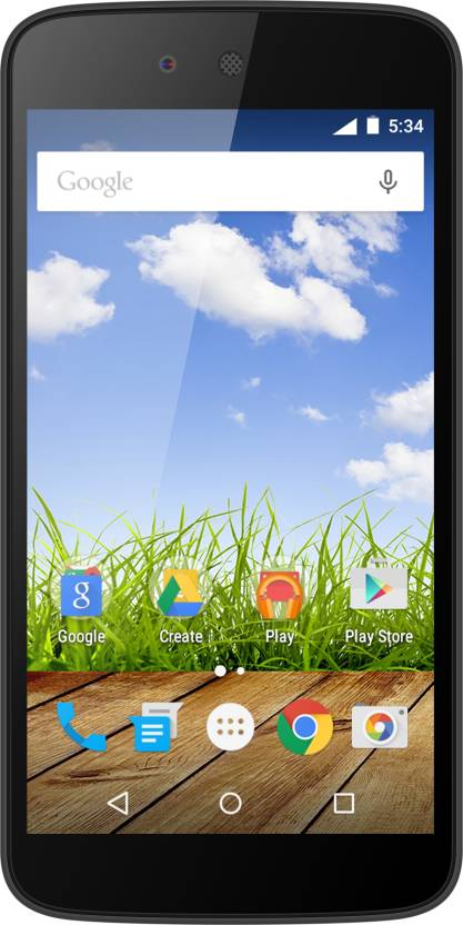 Micromax Canvas A1 (Black, 8 GB)