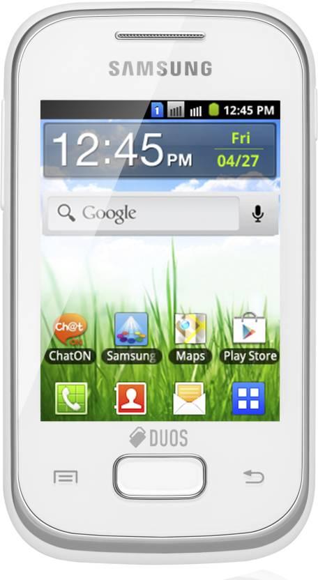 Samsung Galaxy Y Duos Lite (White, 4 GB)