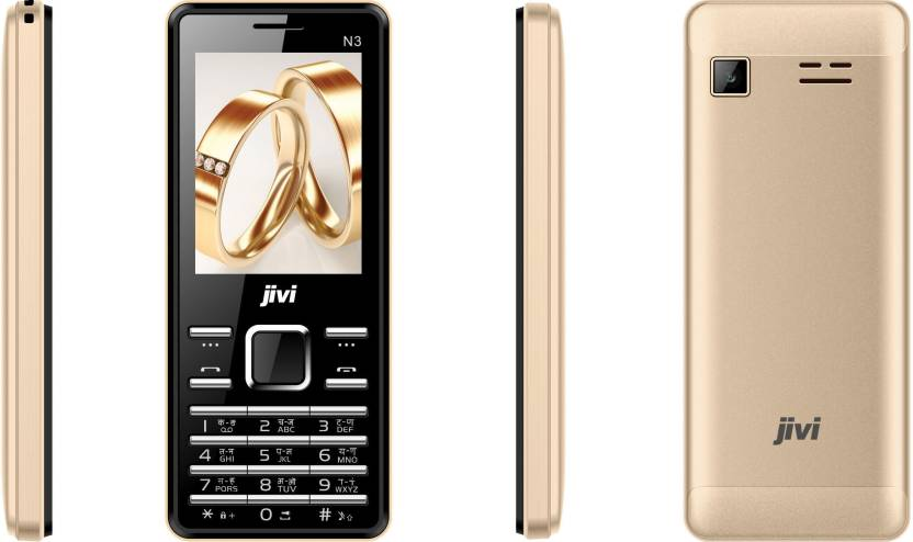 jivi N3 (Black & Gold)