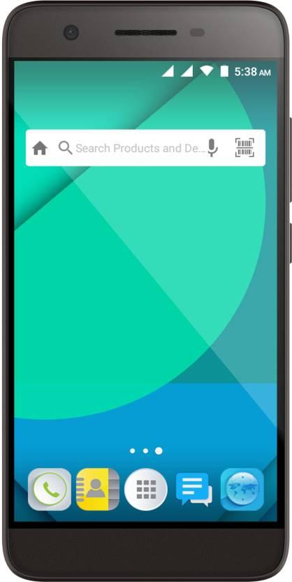 Micromax Canvas Juice 4G (Grey, 8 GB)