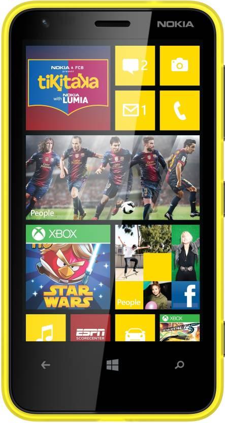Nokia Lumia 620 (Yellow, 8 GB)