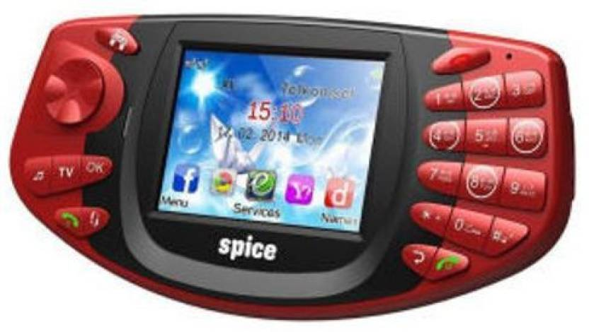 Spice Gaming Mobile X-2 (Red)