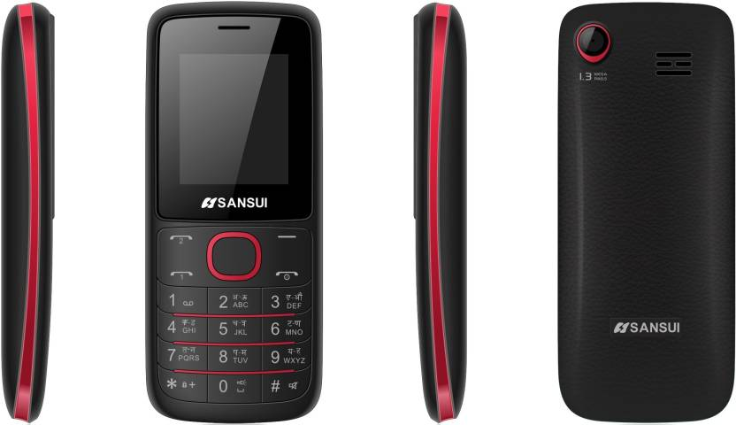 Sansui Z15 (Black & Red)