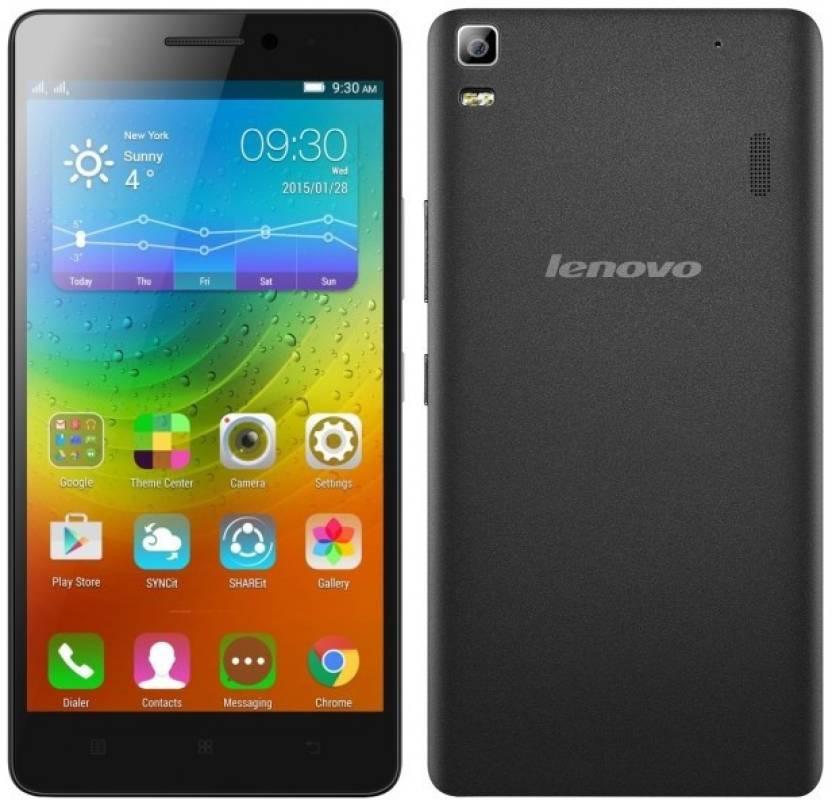 Lenovo A7000 Turbo (Black, 16 GB)(2 GB RAM)