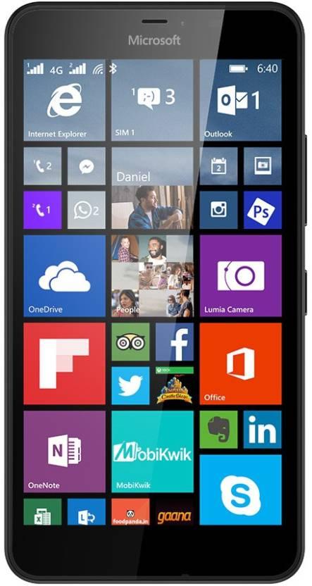 Microsoft Lumia 640 XL LTE (Black, 8 GB)(1 GB RAM)