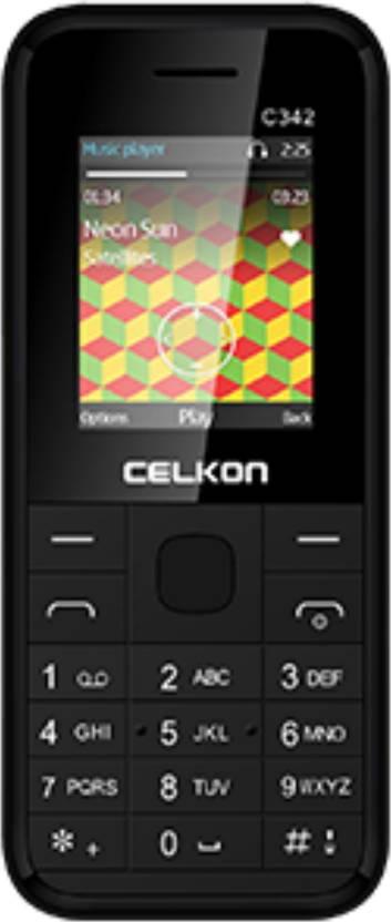 Celkon C342 (Black)