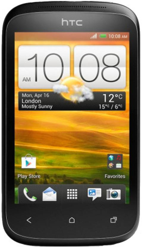 HTC Desire C (Stealth Black, 4 GB)