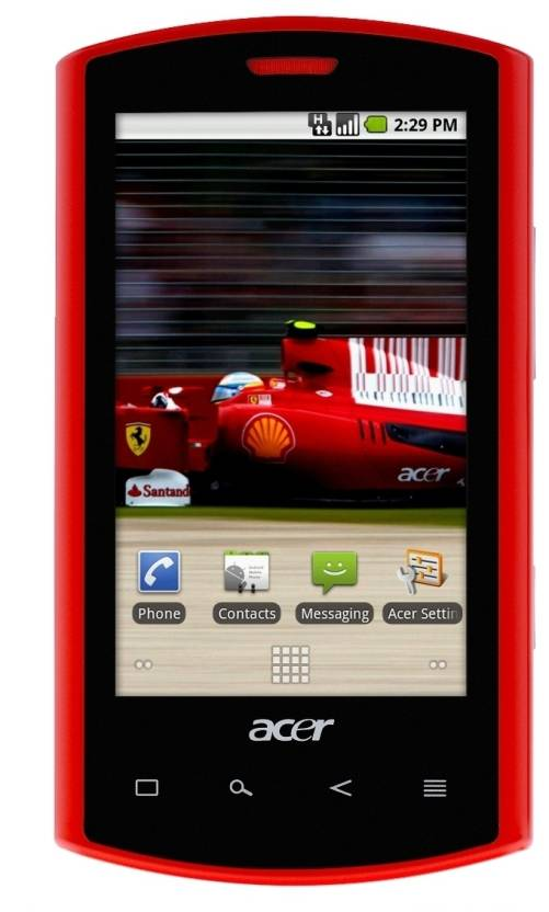 Acer Ferrari Edition Liquid E (Red, 512 MB)