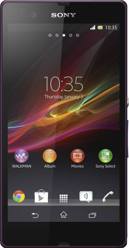 Sony Xperia Z (Purple, 16 GB)