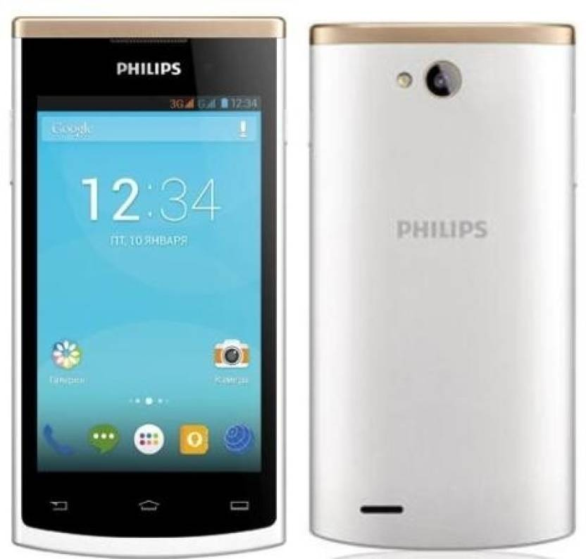 Philips S 308 WHITE (WHITE & GOLD, 4 GB)
