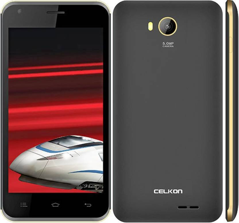 Celkon 2GB Xpress (Grey & Gold, 16 MB)