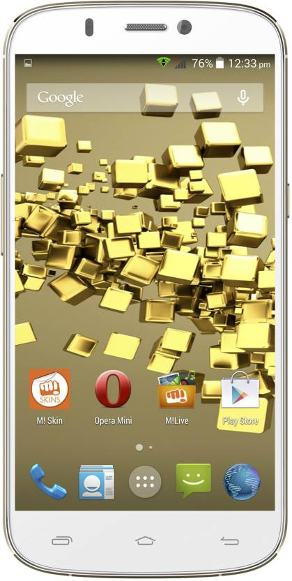 Micromax Canvas Gold A300 (White Gold, 26 GB)