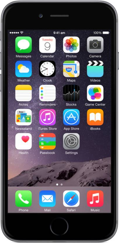 Apple iPhone 6 (Grey, 128 GB)