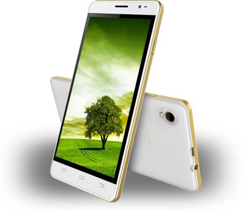 Intex Aqua Slice 2 (White + Gold, 8 GB)