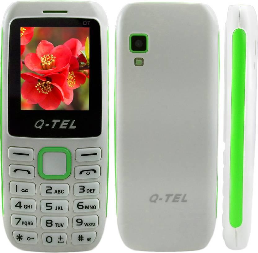 Q-Tel Q7 (White, Green)