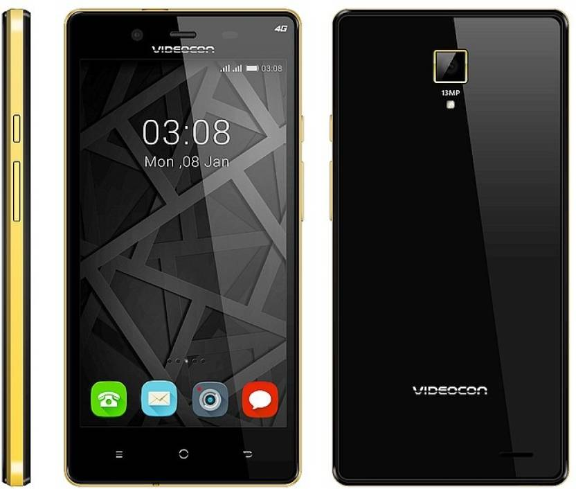 Videocon Infinium Z55 Krypton (Black, 8 GB)