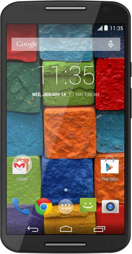 Moto X (2nd Generation) (Black Leather, 16 GB)