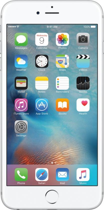 Apple iPhone 6s Plus (Silver, 16 GB)