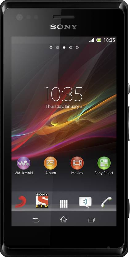 Sony Xperia M Dual (Black, 4 GB)