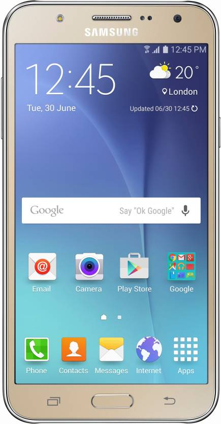 Samsung Galaxy J7 (Gold, 16 GB)  (1.5 GB RAM)