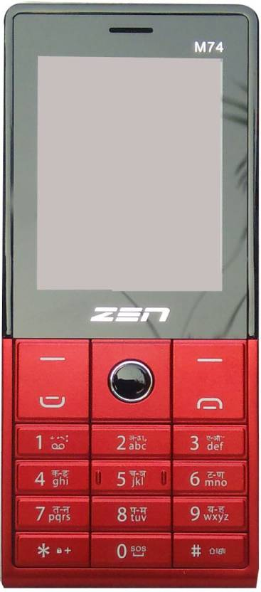 Zen Zen m 74 (Red/Black)