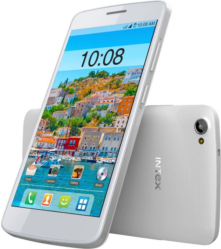 Intex Aqua Star II HD (White, 8 GB)