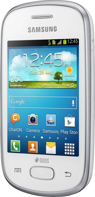 Samsung Galaxy Star (Ceramic White, 4 GB)(512 MB RAM)