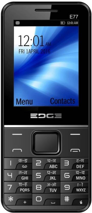 Edge E77 (Black)