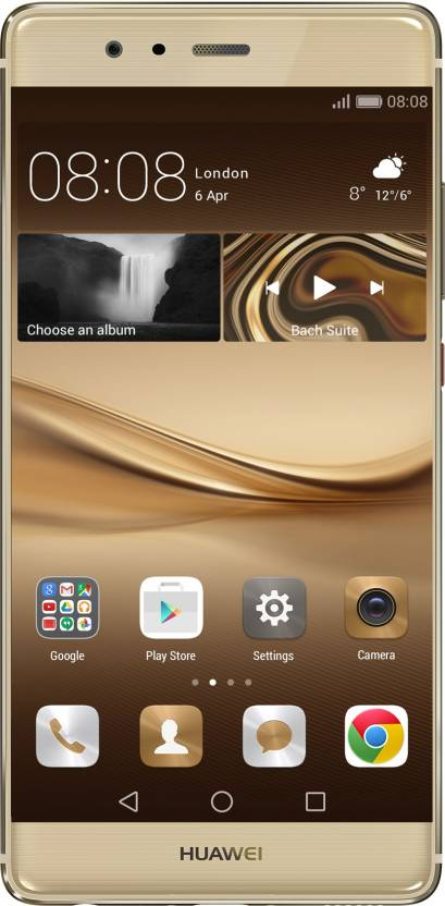 Huawei P9 (Prestige Gold, 32 GB)  (3 GB RAM) for ₹21950 at Flipkart