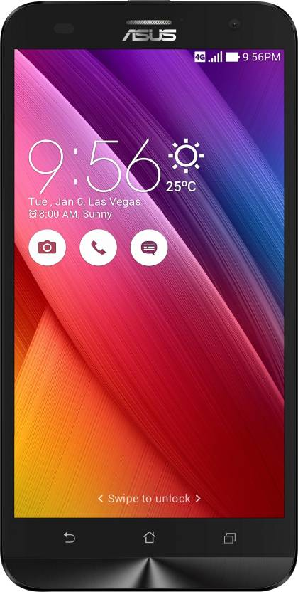 Asus Zenfone 2 Laser ZE550KL  Black, 16   GB    2   GB RAM  available at Flipkart for Rs.8499