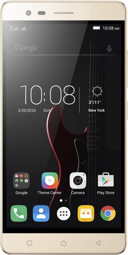 Lenovo Vibe K5 Note (5.5 inch/ VR Theater Tech/ 4 GB RAM/ Marshmallow OS)