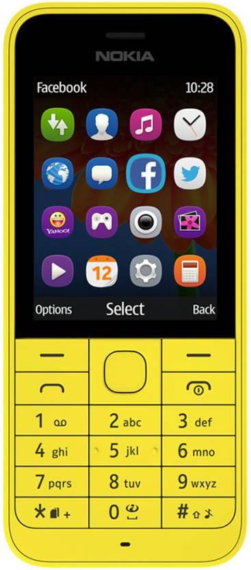 Nokia 220 (Yellow)