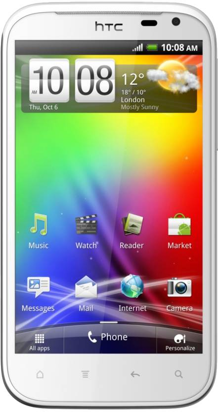 HTC Sensation XL (White Silver, 16 GB)