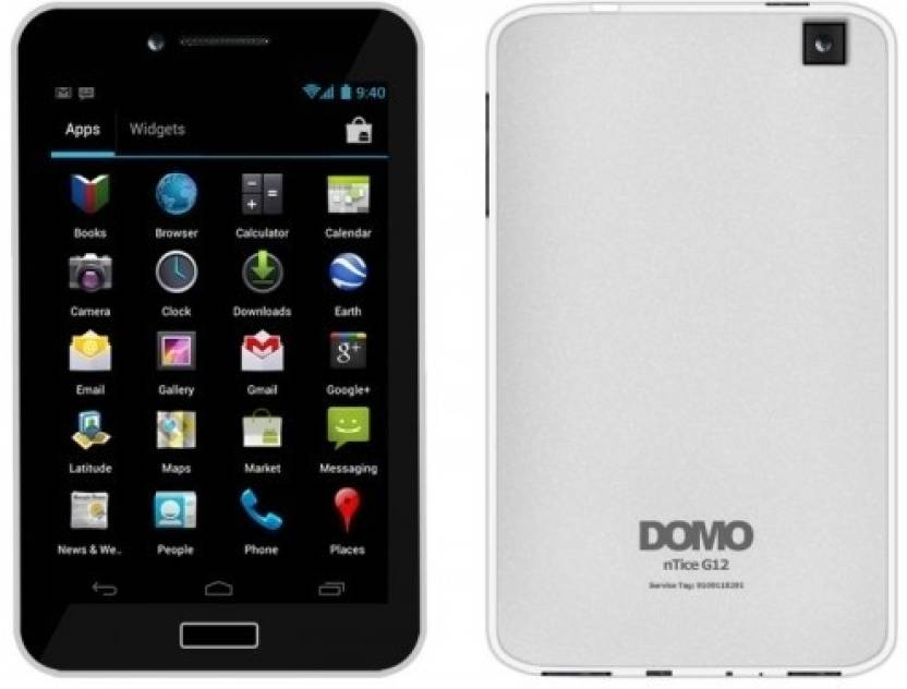 DOMO nTice G12 (White, 4 GB)