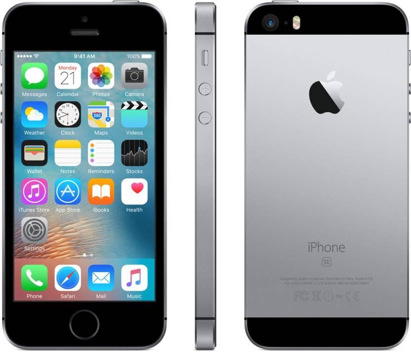 Apple iPhone SE (Space Grey, 64 GB)